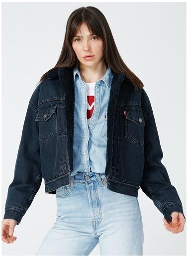 Levi's® Levis Kadın Koyu Mavi Ceket Mavi